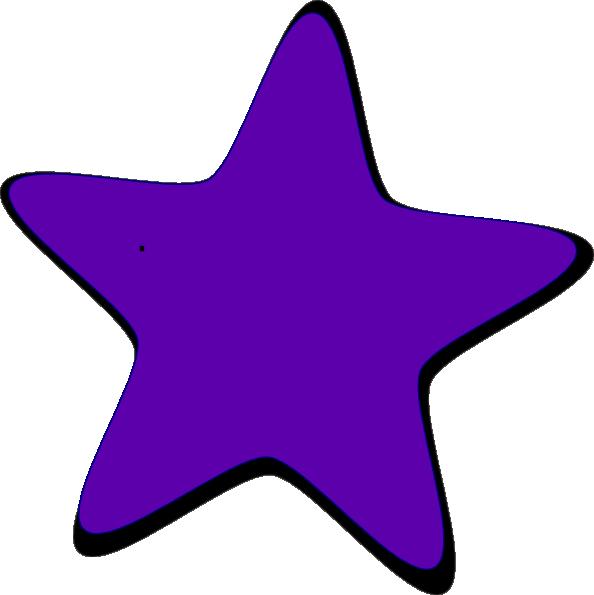 Purple Star Clip Art at Clker.com.