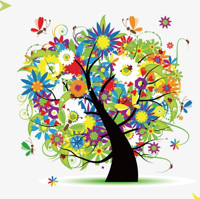 Colorful Tree Of Life PNG, Clipart, Colorful Clipart.