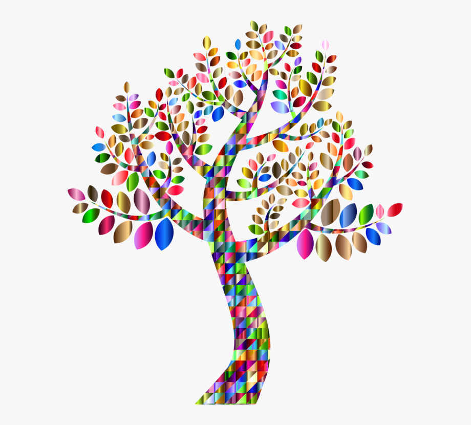 Colorful Tree Png.