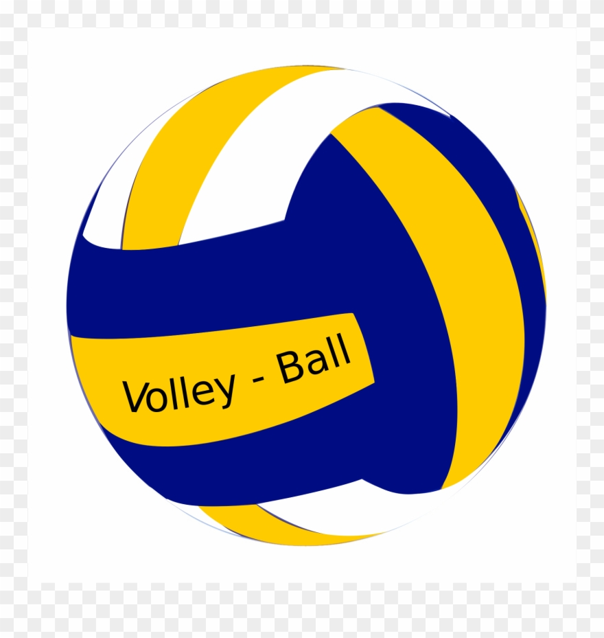 Colors Clipart Volleyball.