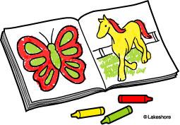 Clip Art Coloring Book Clipart