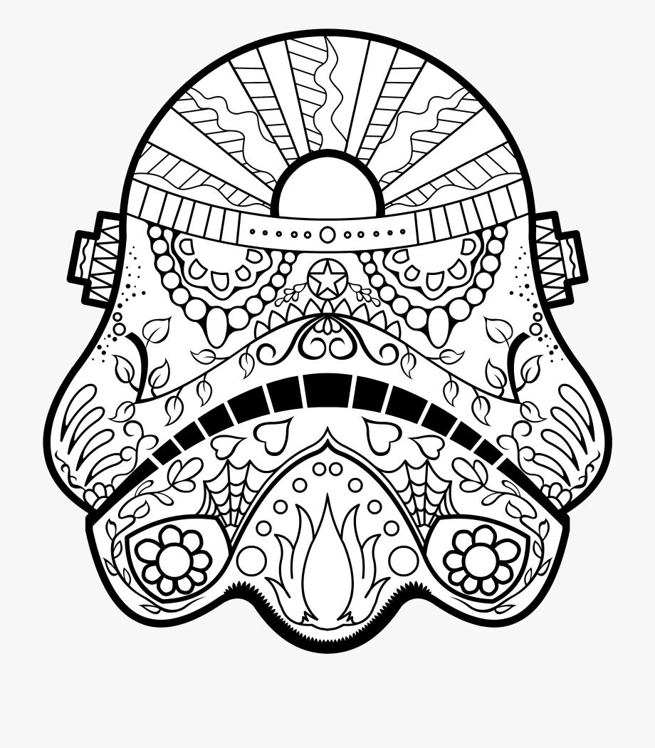 Stormtrooper Clip Art Free Clipart Coloring Book A.