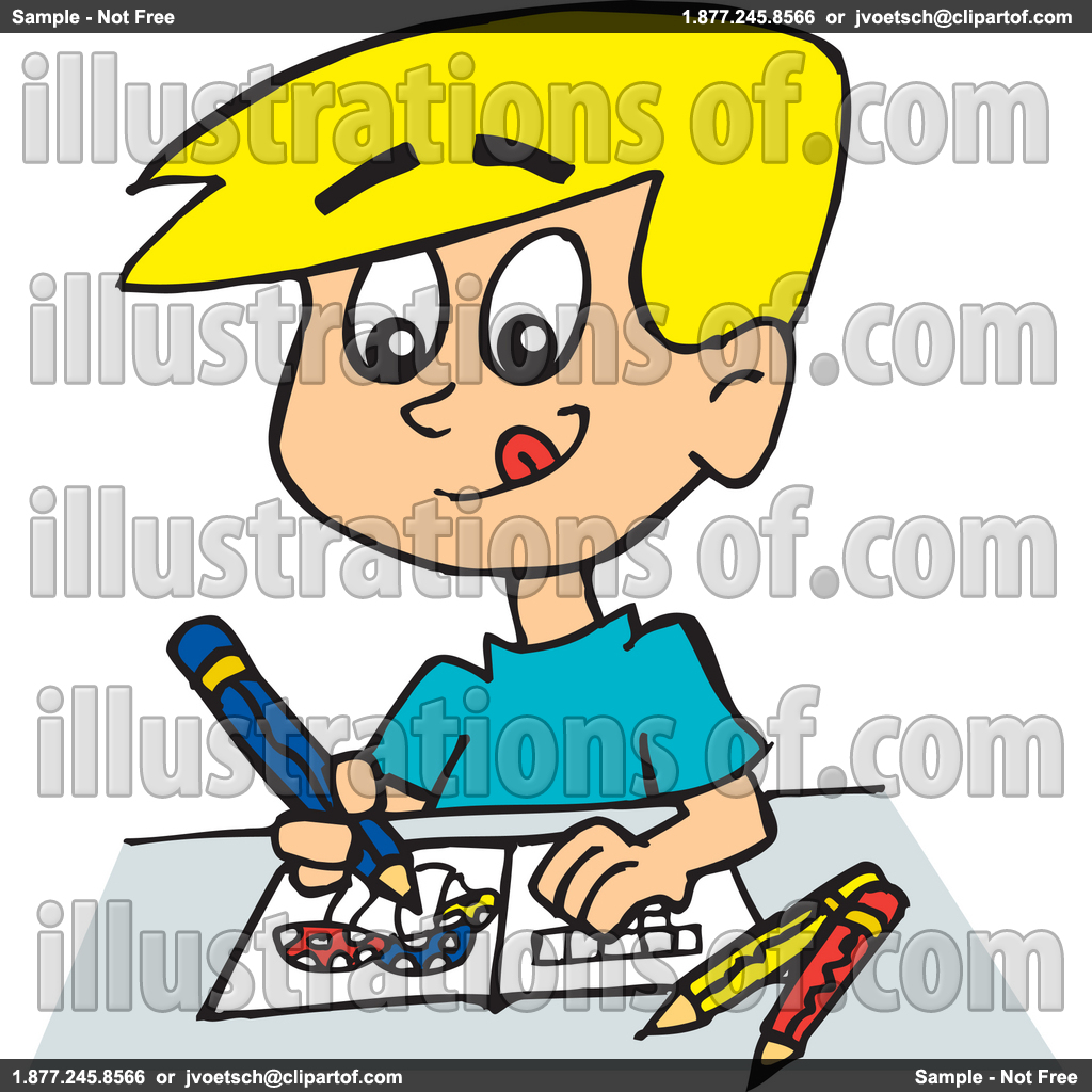 Coloring Clip Art For Kids.
