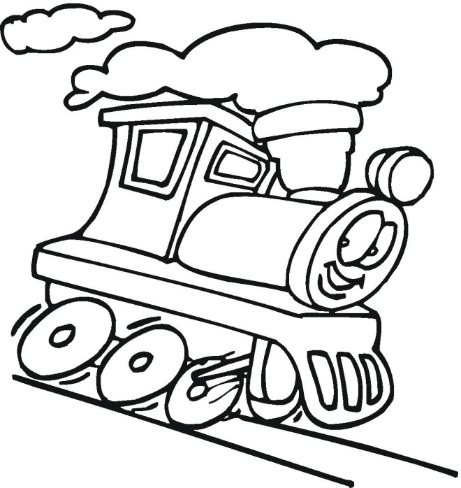 Car Coloring Page Clipart.