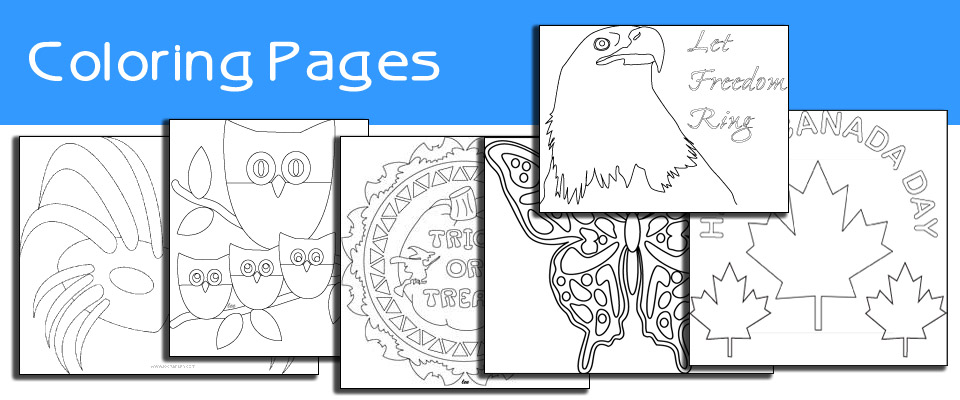 Clip Art, Coloring Pages, Paper Crafts, Printables at Lee Hansen.
