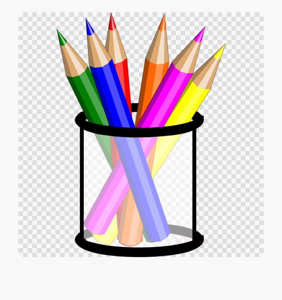 Clip Art Colored Pencils.