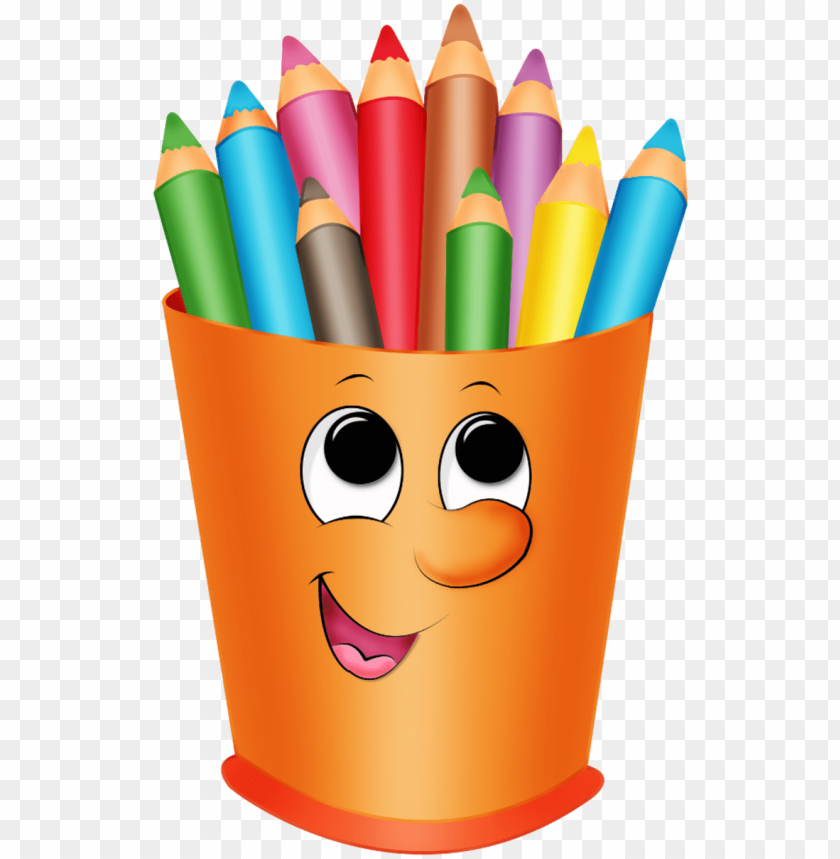 transparent stock pinterest colored pencils clip art.