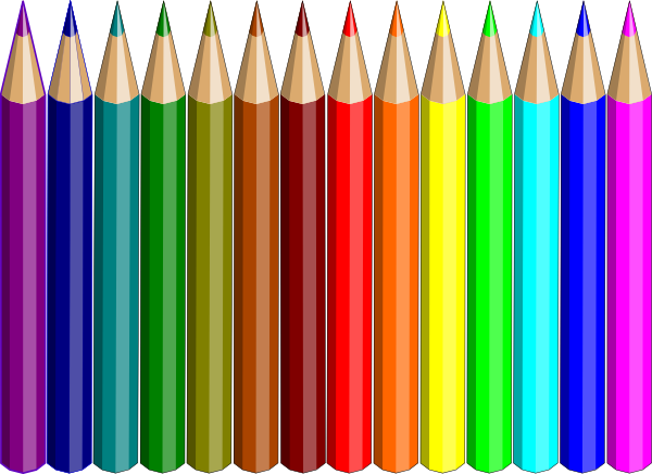 Color Pencil Clipart Png.