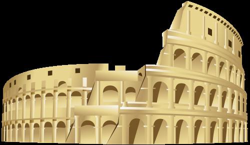 The Colosseum PNG Clip Art.
