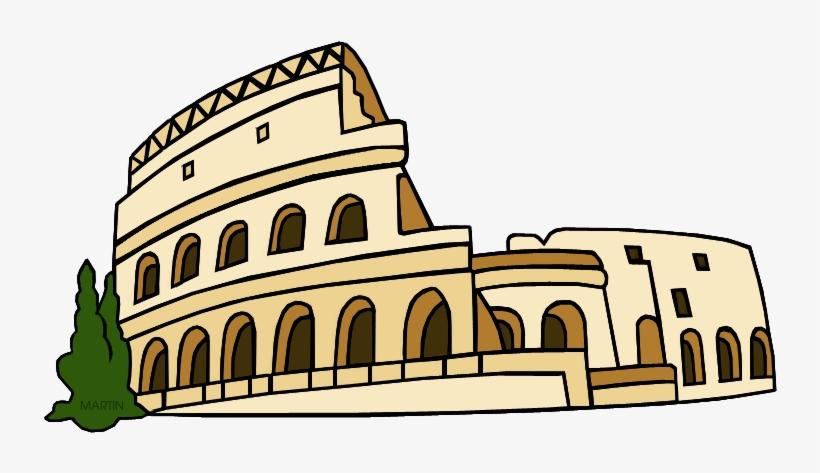 Rome Clip Art By Phillip Martin.