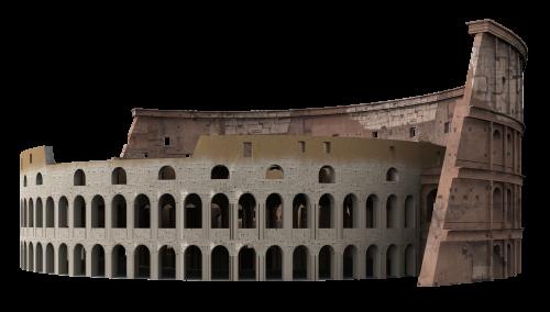 Colosseum PNG Transparent Image.