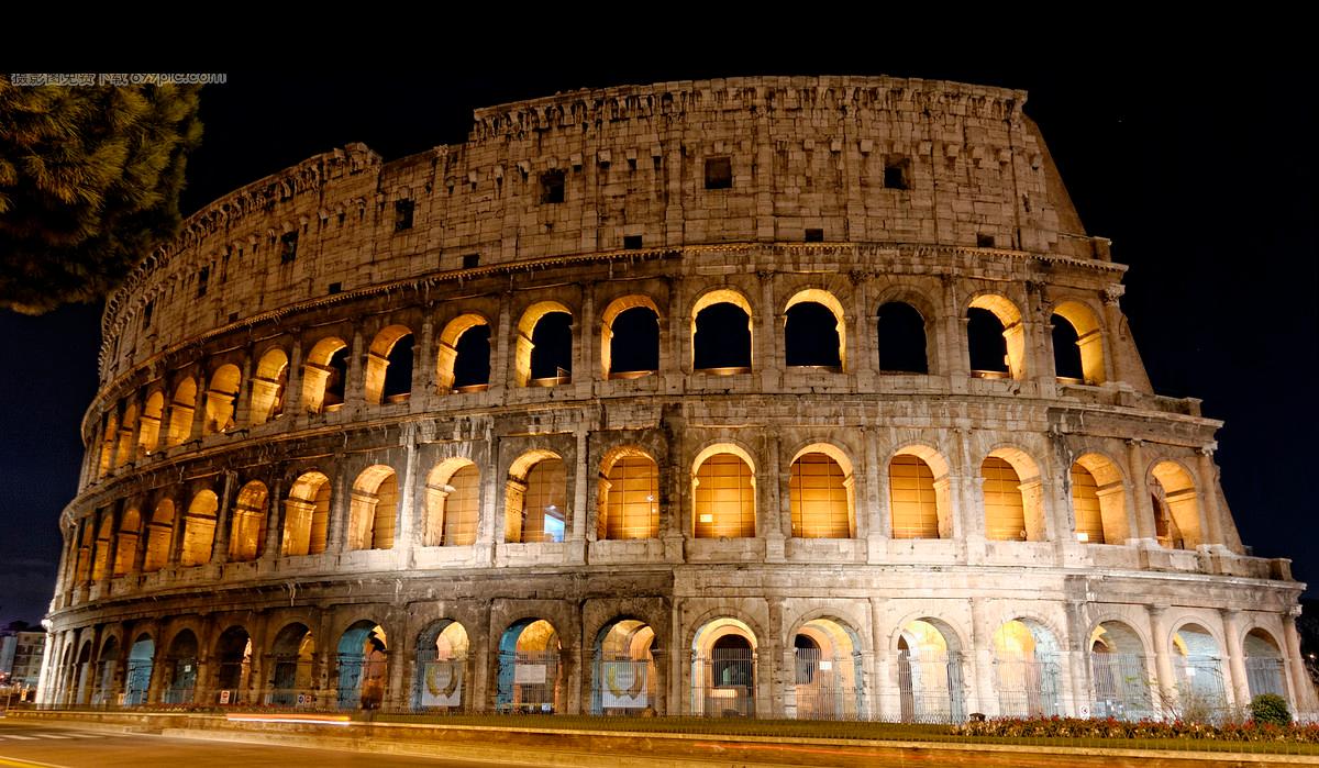 Free PNG The Roman Colosseum.