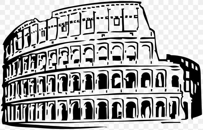 Colosseum Roman Forum Historic Centre Of Rome Clip Art, PNG.
