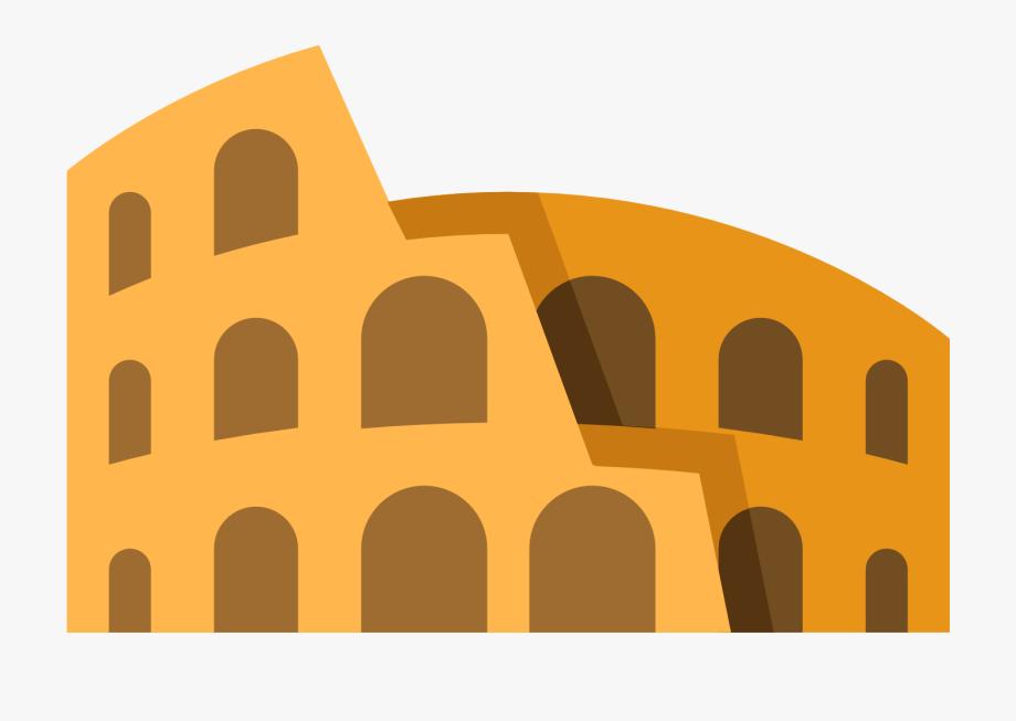 Gladiator Clipart Colosseum.