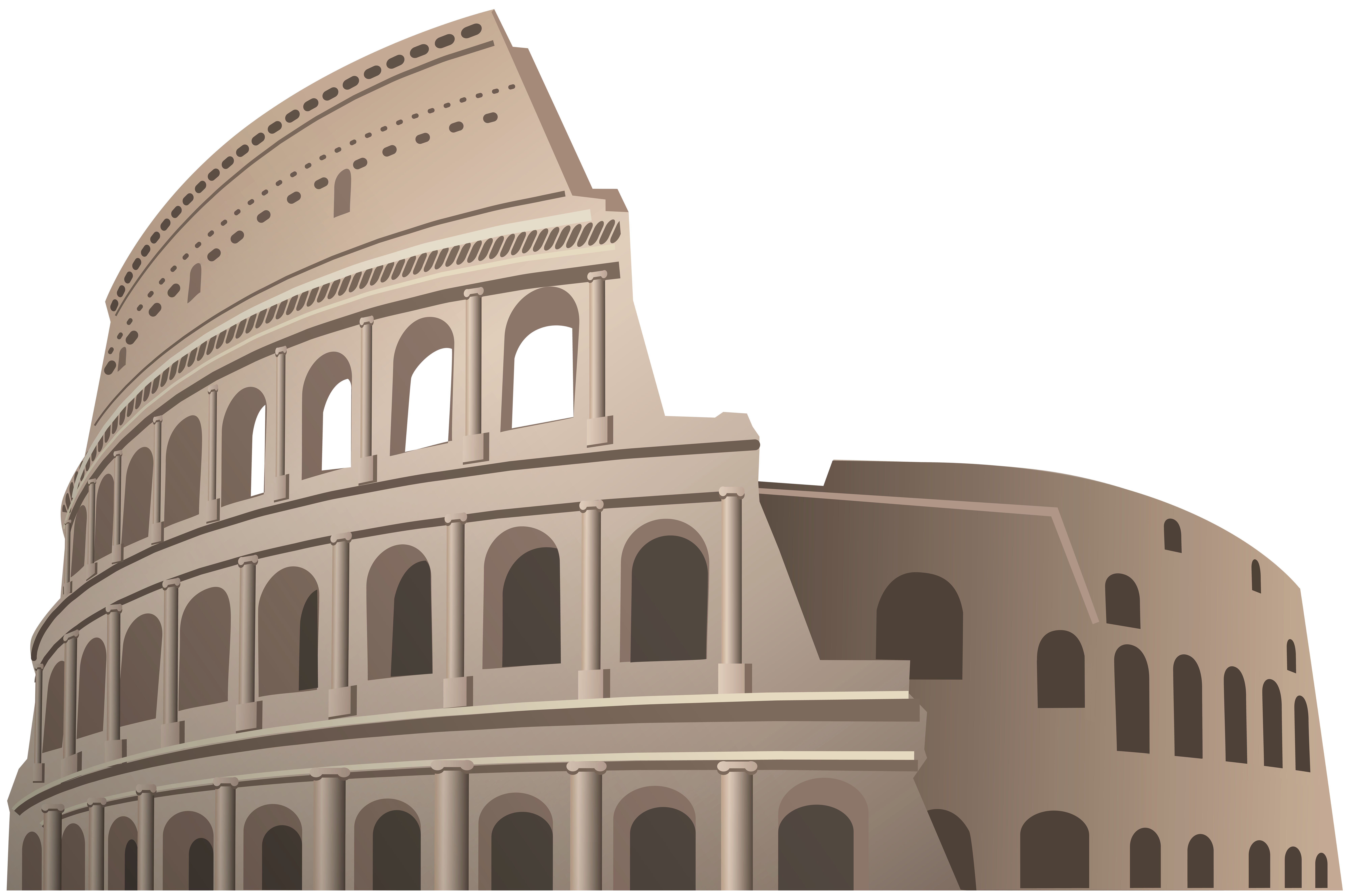 Colosseum Rome PNG Clipart.