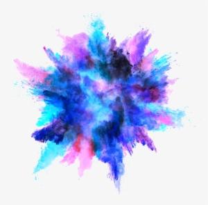 Color Explosion PNG, Transparent Color Explosion PNG Image.
