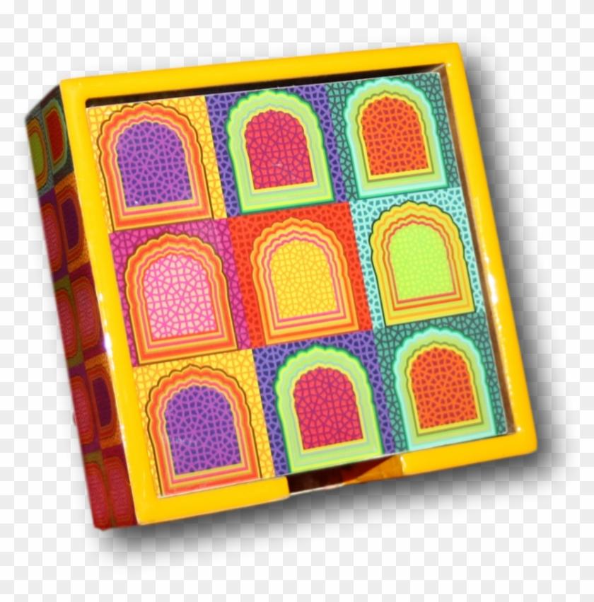 Colour Blast Coasters.
