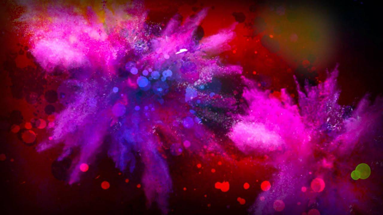COLOUR BLAST background animation.