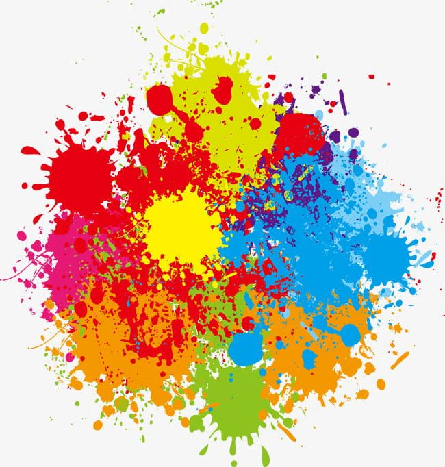 Pigment Splash Effect PNG, Clipart, Abstract, Art.