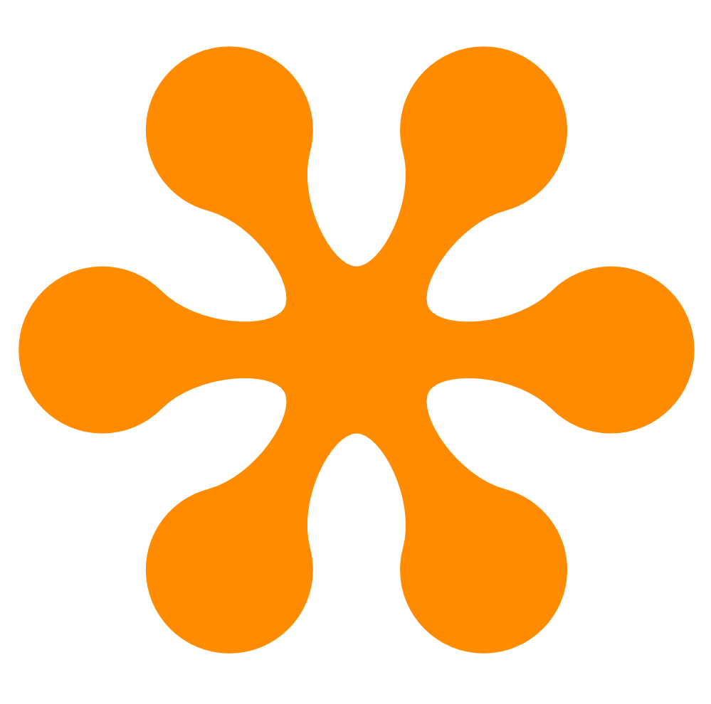 Orange colour clipart.