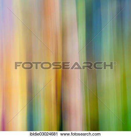 """Stock Photography of """"Colour, composition, blurred acrylic picture."""