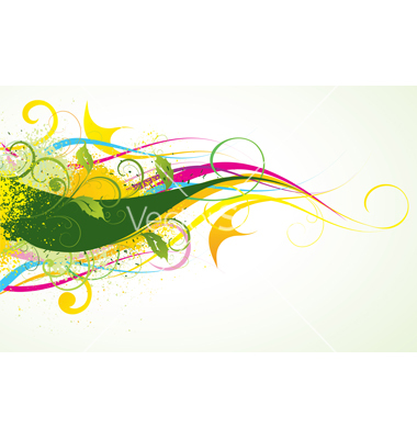 Colour composition vector by.