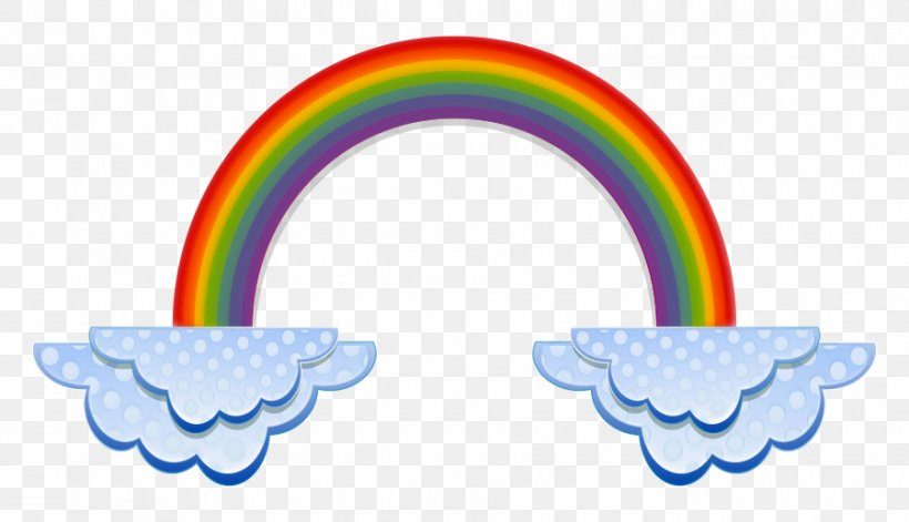 Rainbow Cloud Color Clip Art, PNG, 900x518px, Rainbow, Arc.