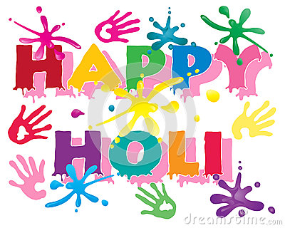 Vivid Colours For Holi Festival Royalty Free Stock Images.