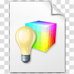 Vista RTM WOW Icon , Lighten Colour, light bulb icon.