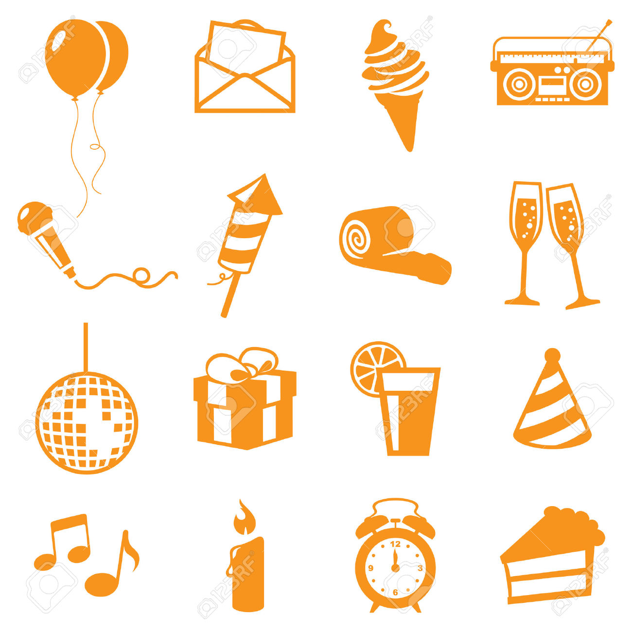 Party Icons.