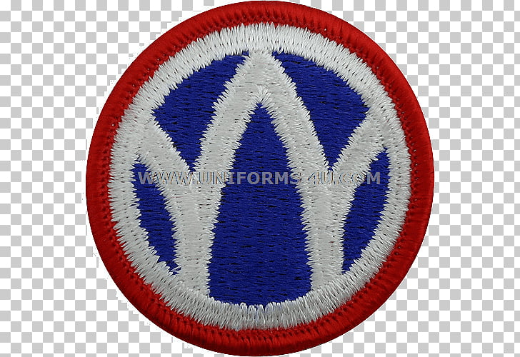 Emblem Badge 89th Infantry Division Embroidered patch.