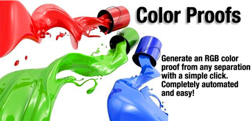 UltraSeps Color Separation Software For Screen Printing.
