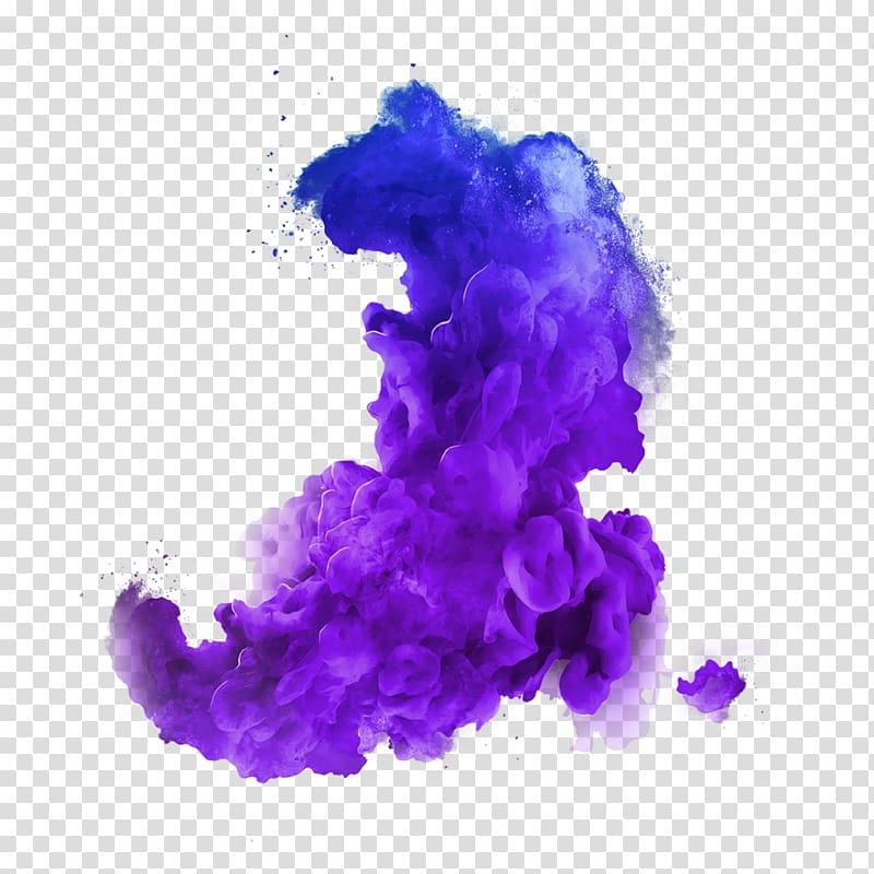 Purple smoke , crush Desktop Color, smoke color transparent.