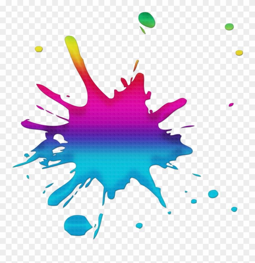Splash Clipart Colour Splash.