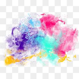 Colour Splash PNG Images.