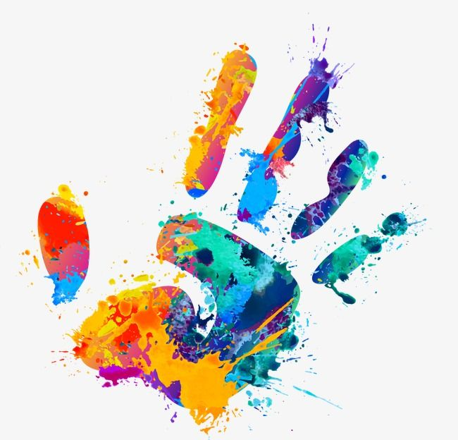 Handprint, Graffiti, Color Splash PNG Transparent Image and Clipart.