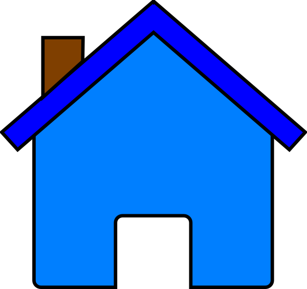 Plain house clipart.