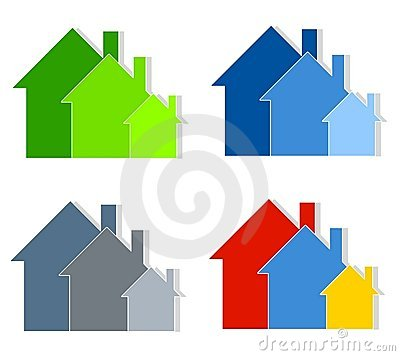 Row Of Houses Clip Art House Royalty Free Stock Photos.