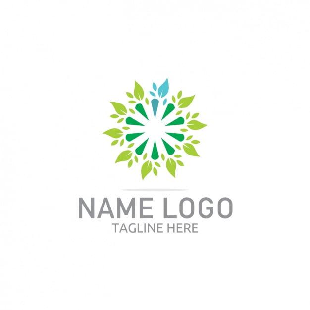 Coloured logo template design eps file.