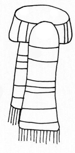 Snowman clipart color scarfs.