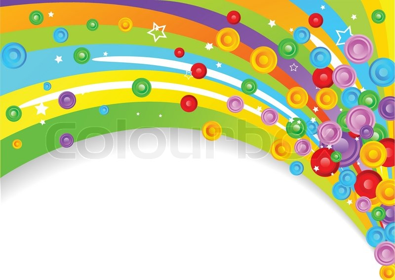 Colourful background clipart.