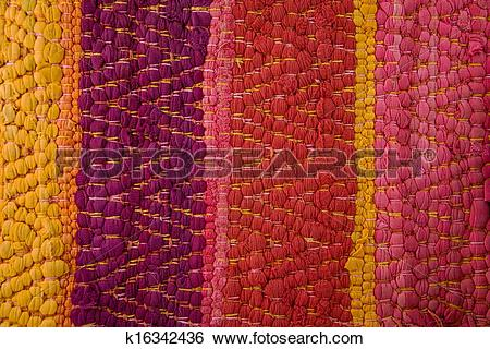 Stock Images of Pattern Peru traditional Fabric Background.