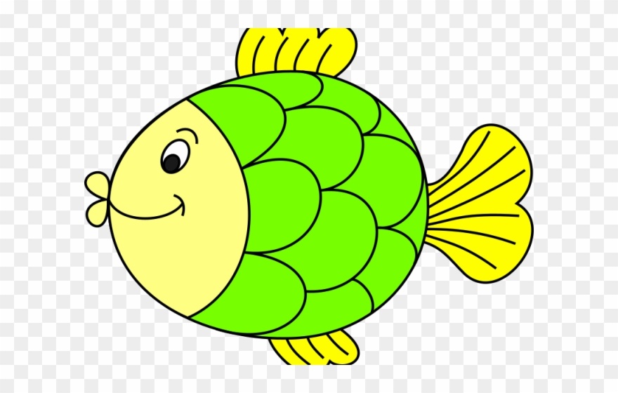 Original Clipart Colour Fish.