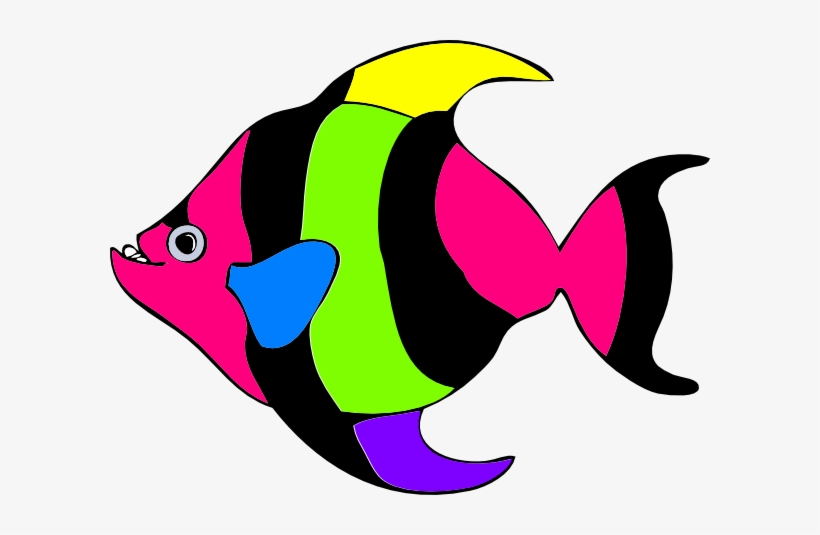 Angelfish Clipart Colourful Fish.