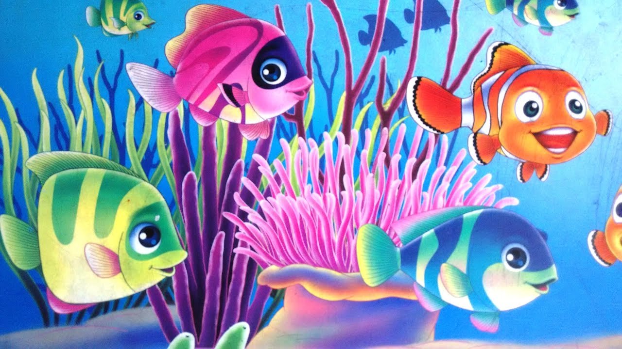 Colourful FIshes.