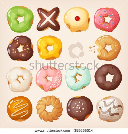 Doughnut Stock Photos, Royalty.