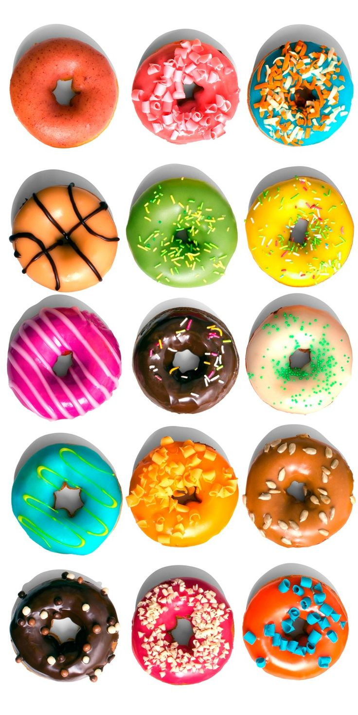 1000+ ideas about Colorful Donuts on Pinterest.