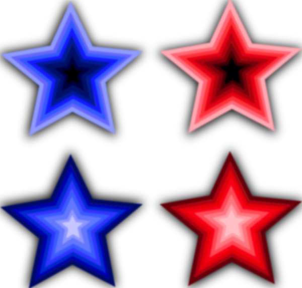 Four Stars Clip Art at Clker.com.