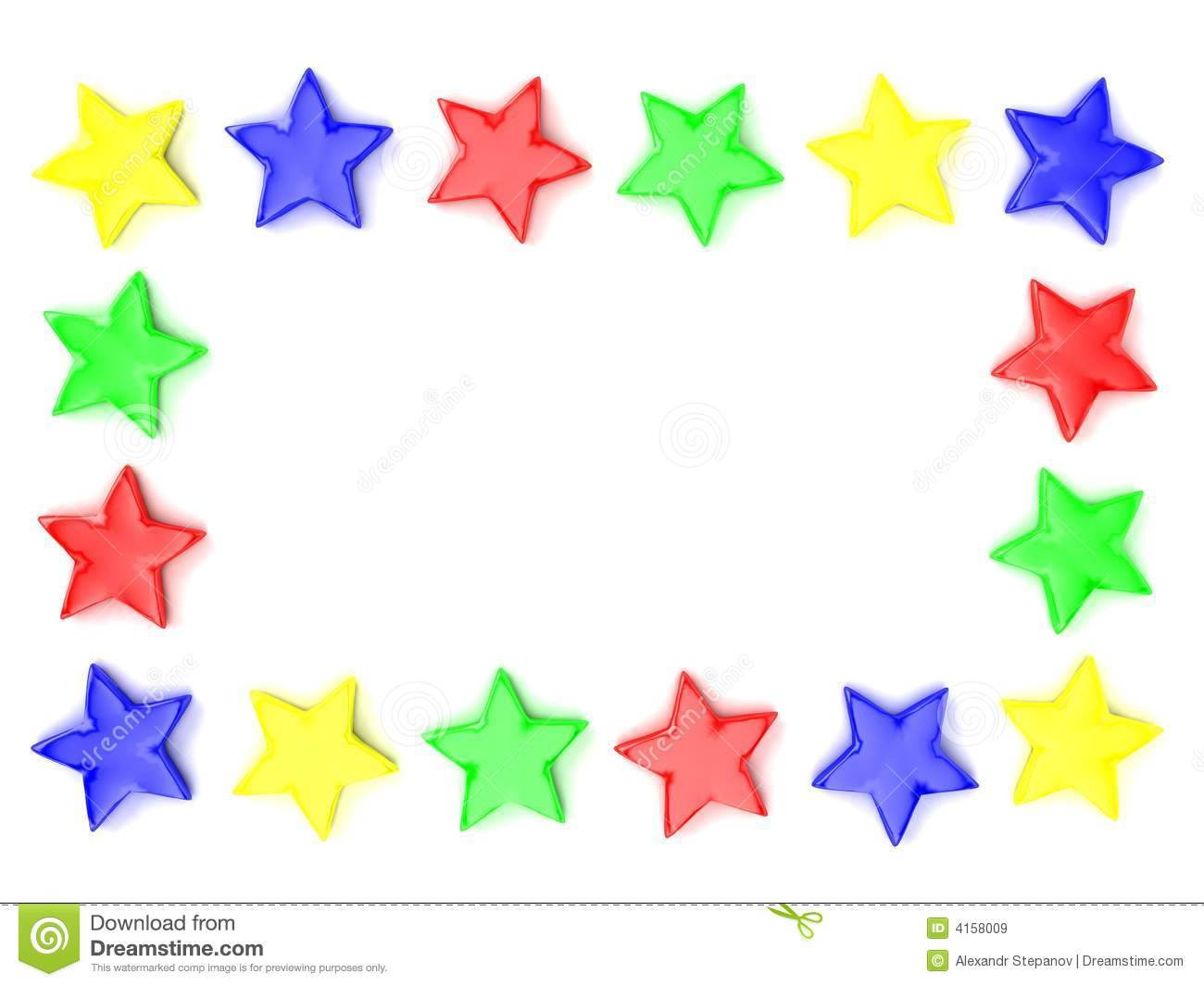 Multi Coloured Star Background Stock Photos, Images, & Pictures.