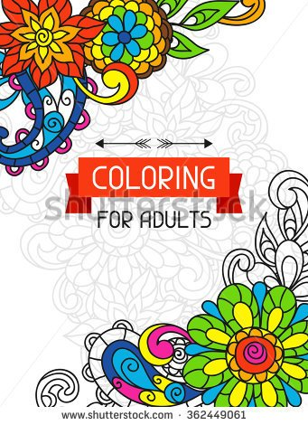 Coloring Book Stock Images, Royalty.